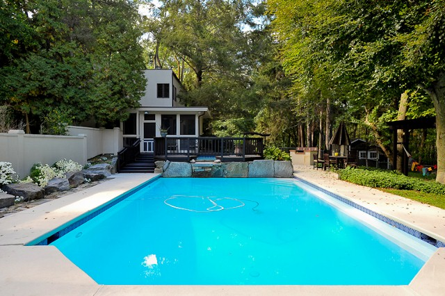 229 Byram Pool by Robert Paul